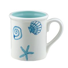 Shard Seashell Mug at The Paper Store