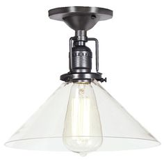 JVI Designs Union Square 1 Light Semi Flush Mount & Reviews | Wayfair.ca