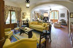 Un des salons de Villa le Barone