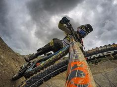 """thebicycletree: """"Thanks to @rachybox Follow me for the best Downhill photos of Instagram! #mtb #downhill #bicycle #cycling #bike #downhillrider #mtbporn #mtbpage #mtblife #allmtb #awesome #extreme #mountainbiking #freeride #freestyle #dh #dhphotos..."""