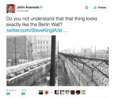 """A Congressman Tweeted A Photo Of A Model Of Trump's Wall And Everyone Made """"Zoolander"""" Jokes"""