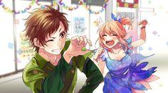Hina Setoguchi and Kotaru Enomoto Anime Couples, Cute Couples, Koi, Zutto Mae Kara, Manga Anime, Anime Art, Honey Works, Korean Painting, Kawaii