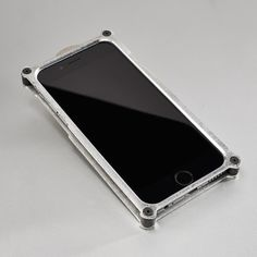 Heavy duty and tough as nails, the Top Secret iPhone Case is machined from aluminum to give your sleek phone a little bit of rugged edge. A screw-in construction assures that your phone will remain in place, while impact buffers on the inner case ...