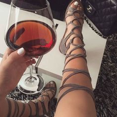 Leg Wrap Lace up Gladiator Sandals Knotty By Nature