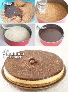 Pişmeyen Pasta Tarifi Kadincatarifler.com - En Nefis Yemek Tarifleri Sitesi - Oktay Usta