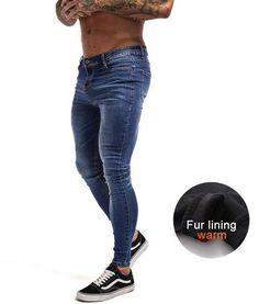 bcf6dbf01794c Mens Skinny Jeans 2019 Super Skinny Jeans Men Non Ripped Stretch Denim -  chicmaxonline
