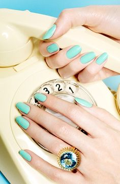 crazy about this color (love the ring too!)