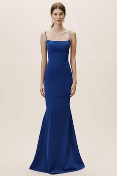 G790H in Mallard Charmeuse | Satin evening dresses