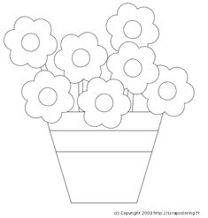 Modelli Fiori On Pinterest Flower Template Flower