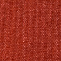 ANICHINI Fabrics | Rustic Persimmon Hand Loomed Silk Fabric - an orange silk fabric