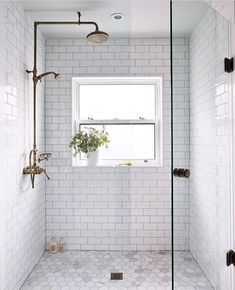 Bathroom decor for your master bathroom remodel. Discover master bathroom organization, bathroom decor suggestions, master bathroom tile some ideas, master bathroom paint colors, and much more. Bad Inspiration, Bathroom Inspiration, Bathroom Renos, Bathroom Renovations, Bathroom Makeovers, Design Bathroom, Bath Design, Decorating Bathrooms, House Renovations