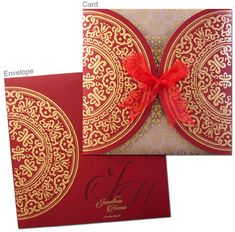 Regal Cards offers innovative and trendy designs of traditional Hindu wedding invitation cards. Our range of exclusive Hindu wedding cards is specifically designed keeping your vivid imagination in mind. Order it online now! Hindu Wedding Cards, Indian Wedding Invitation Cards, Vintage Wedding Invitations, Printable Wedding Invitations, Wedding Invitation Design, Invitations Online, Invitation Ideas, Wedding Stationery, Invites