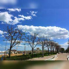 My sky now........ #mysky #now #today #shootoftheday #rimini #shoot #photography #sky #clouds #april #fullday #running # #weather #colorful #amazing #goodshoot #welldone #likesforlikes #likes #like4like #likeback # by olga_curri