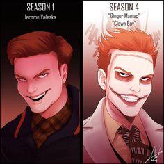 Gotham City, Jerome Gotham, Gotham Joker, Gotham Villains, Joker Art, Batman Arkham, Batman Robin, Cameron Monaghan Gotham, Gotham Series