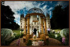 Chateau Challain in July
