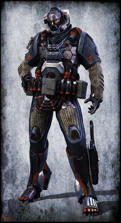 Francisco Pettigiani さんの Sci-fi armors and suits ボードのピン |...