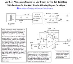 Pin Tube Phono Preamp Schematic Image Search Results On Pinterest