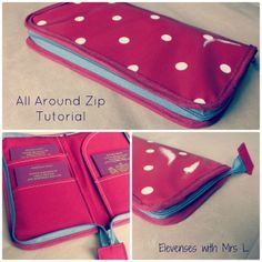 elevenses with Mrs L: All Around Zip Tutorial