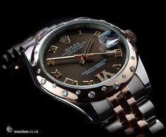Rolex Ladies Datejust - 178341. Lovely brown dial complements the everose gold perfectly. We buy and sell Rolex Datejust watches. Contact Us - www.watches.co.uk