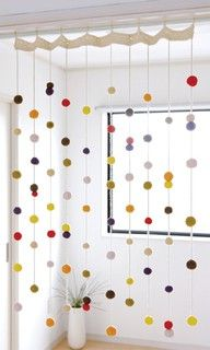 Awesome Shower Curtain Idea!  Or a way to add a little color to curtains in other rooms as well