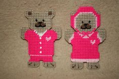 532 February Bear Magnets by angelbear56 on Etsy