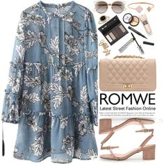 Romwe by oshint on Polyvore featuring moda, Michael Kors, Topshop, Blue Nile, Christian Dior and Borghese