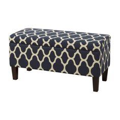 Latitude Run Clare Tokatli Upholstered Storage Ottoman & Reviews | Wayfair