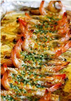 BUTTER & GARLIC PRAWN [shrimp prawn]