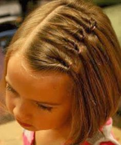 Bet Your Hair Wasn't This Cool In Kindergarten! Awesome Hair Styles For Little Girls • Page 6 of 11 • BoredBug