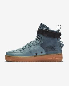 huge discount b1ba5 4899d Nike SF Air Force 1 Mid Men s Shoe Celestial, Zapatillas, Verde Azulado