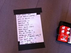 Eric Paslay's setlist for KFDI's Party on the Plaza at the Hyatt Regency - April 14,2012