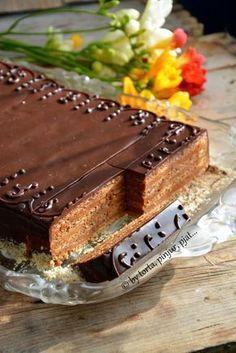 torta, pinjur, pjat...: Reform Torta Polish Desserts, No Cook Desserts, Sweet Desserts, Sweet Recipes, Torte Recepti, Kolaci I Torte, Baking Recipes, Cookie Recipes, Dessert Recipes