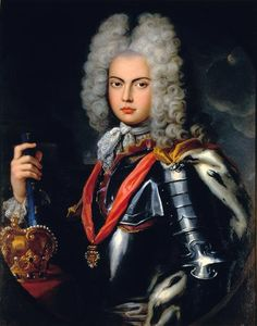 King João V (1689-1750), painted by Batoni - Ajuda National Palace