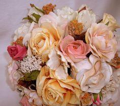 $160.00  Silk rose bouquet