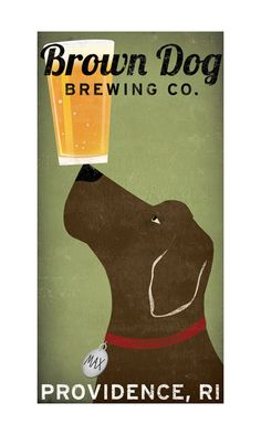 custom LABRADOR Craft Beer Brewing Company by nativevermont, $75.00