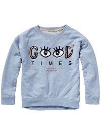 Boxy Sweater | Sweats | Girls Clothing at Scotch & Soda