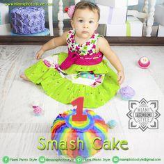 #SmashCake Ya se acerca el cumpleaños de tu bebé, dale la oportunidad de que disfrute con su torta de cumpleaños. Podrás tener en fotos cada detalle. miamiphotostyle@gmail.com  www.miamiphotostyle.com