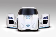 Nissan shows off prototype electric car design, plans to race it at Le Mans Le Mans, Nissan, Sport Cars, Race Cars, Cheap Car Seat Covers, Racing Car Design, Design Cars, Delta Wing, Top Gear