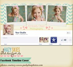 Facebook Timeline Cover for Personal or Business Page. $7.50, via Etsy.