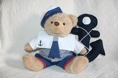 Decoração ursinho marinheiro. Bebê marinheiro.
