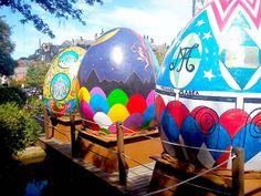 Exposição de Ovos de Páscoa Gigantes. Foto: Lúcia Bischoff. #chocofest #pascoa #easter #ovosdepascoa #gramadors #brasil #brazil