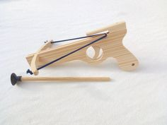 Small wooden Crossbow ,Natural Organic Toy, Name Toy, Children's Toy, Name Engraved, Birthday Gift, Children Gift