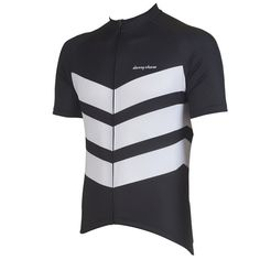 Our Aston Black cycling jersey is a best-seller. We also offer it in Grey and Pink, though you can't go wrong with classic black.