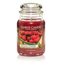 Black Cherry smells of the absolutely delicious sweetness of rich, ripe black cherries.