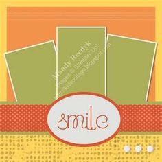 simple scrapbook layouts | simple scrapbook layout