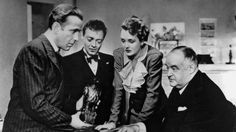 The Maltese Falcon is the classic film noir starring Humphrey Bogart and Mary Astor.Read all about the film, its influence, cast and behind the scenes facts Classic Film Noir, Classic Films, Classic Tv, Sherlock Holmes, Detective, Bogart Movies, Orry Kelly, Dashiell Hammett, Peter Lorre