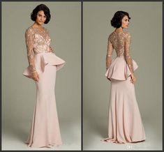1aa60dac5ce54 2019 Unique New Design Evening Dresses Long Sleeve Lace Applique Prom Dress  With Tiers Floor Length Charming Party Gowns 2018 Evening Dress For Sale  Evening ...