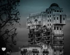 The Hollywood Tower Hotel, Disneyland. OMG I remember this. Basically the coolest thing there.