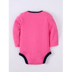 Long Sleeve Letter Embroidery Kids Baby Romper #hats, #watches, #belts, #fashion, #style