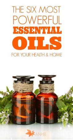 6 powerful essential oils and uses.  I use Young Living.  I don't know what this blogger uses but a lot of her suggestions can be translated to a YL oil!